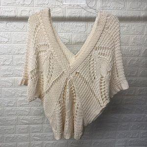 Old Navy Crochet Sweater